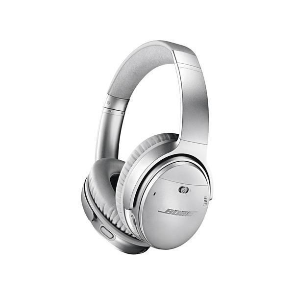 【送料無料】BOSE QuietComfort 35 wireless headphones II シルバー [スマートヘッドホン Googleアシスタント対応]