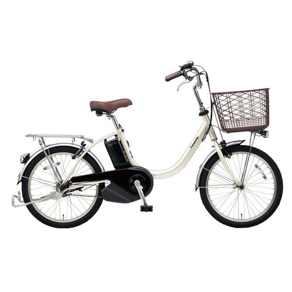【送料無料】PANASONIC BE-ELL03-S ウォームシルバー ビビ・L・20 [電動アシスト自転車(20インチ)]【同梱配送不可】【代引き不可】【本州以外配送不可】