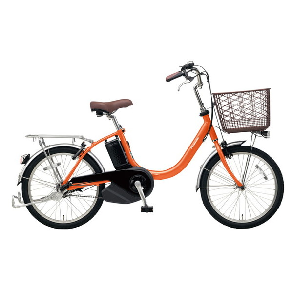 【送料無料】PANASONIC BE-ELL03-K ラセットオレンジ ビビ・L・20 [電動アシスト自転車(20インチ)]【同梱配送不可】【代引き不可】【本州以外配送不可】