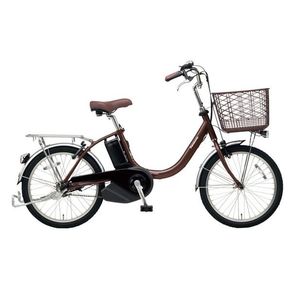 【送料無料】PANASONIC BE-ELL03-T チョコブラウン ビビ・L・20 [電動アシスト自転車(20インチ)]【同梱配送不可】【代引き不可】【本州以外配送不可】