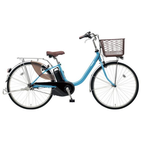 【送料無料】PANASONIC BE-ELL43-V ターコイズブルー ビビ・L [電動アシスト自転車(24インチ)]【同梱配送不可】【代引き不可】【本州以外配送不可】