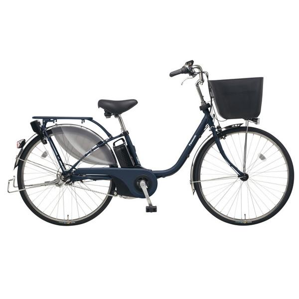 【送料無料】PANASONIC BE-ELE435-V マットネイビー ビビ・EX [電動アシスト自転車(24インチ)]【同梱配送不可】【代引き不可】【本州以外配送不可】