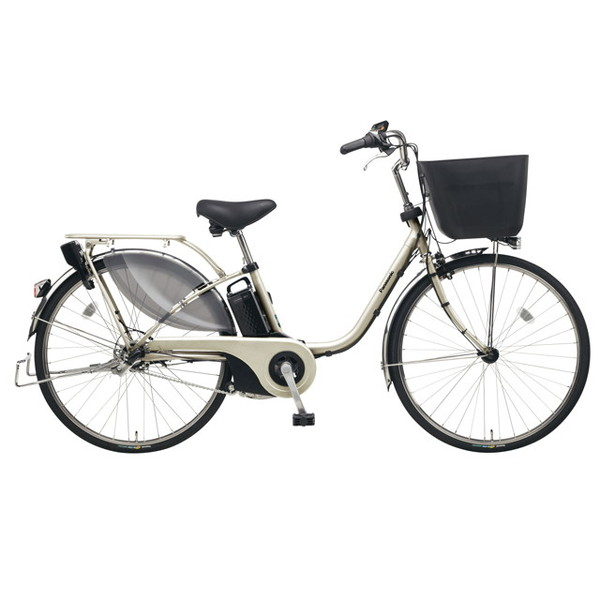 【送料無料】PANASONIC BE-ELE635-T STチタンシルバー ビビ・EX [電動アシスト自転車(26インチ)]【同梱配送不可】【代引き不可】【本州以外配送不可】