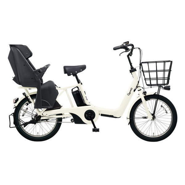 PANASONIC BE-ELAS03-F オフホワイト ギュット・アニーズ・SX [電動アシスト自転車(20インチ)] 【同梱配送不可】【代引き・後払い決済不可】【本州以外の配送不可】