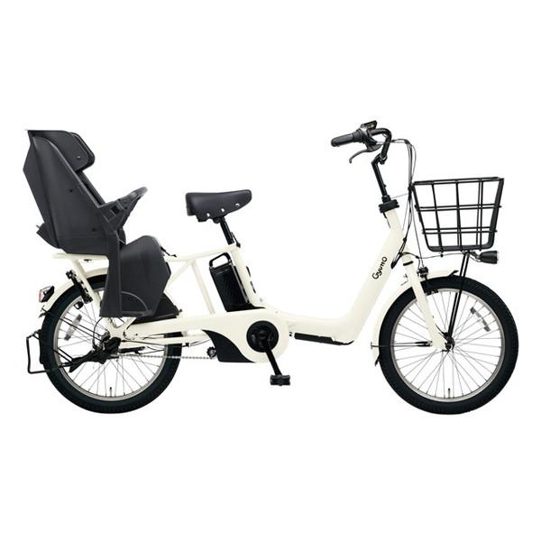 【送料無料】PANASONIC BE-ELAD03-F オフホワイト ギュット・アニーズ・DX [電動アシスト自転車(20インチ)]【同梱配送不可】【代引き不可】【本州以外配送不可】