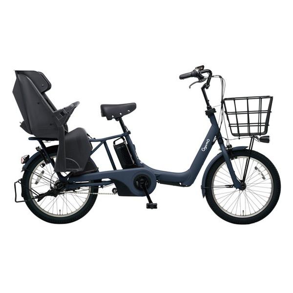 【送料無料】PANASONIC BE-ELAD03-V マットネイビー ギュット・アニーズ・DX [電動アシスト自転車(20インチ)]【同梱配送不可】【代引き不可】【本州以外配送不可】