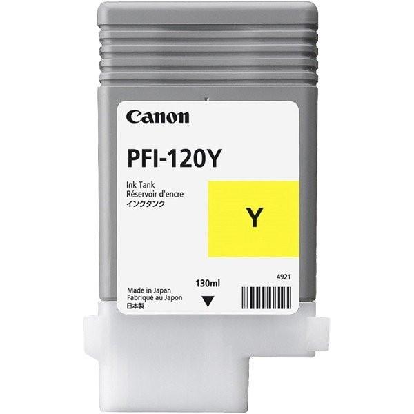 CANON PFI-120 Y [イエロー] [インクタンク]【同梱配送不可】【代引き・後払い決済不可】【沖縄・北海道・離島配送不可】