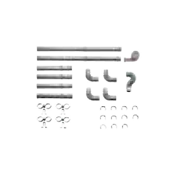 【送料無料】SUNPOT FR-20S4 [FF暖房機・給排気管延長セット(2m延長/ステンレス管使用)]