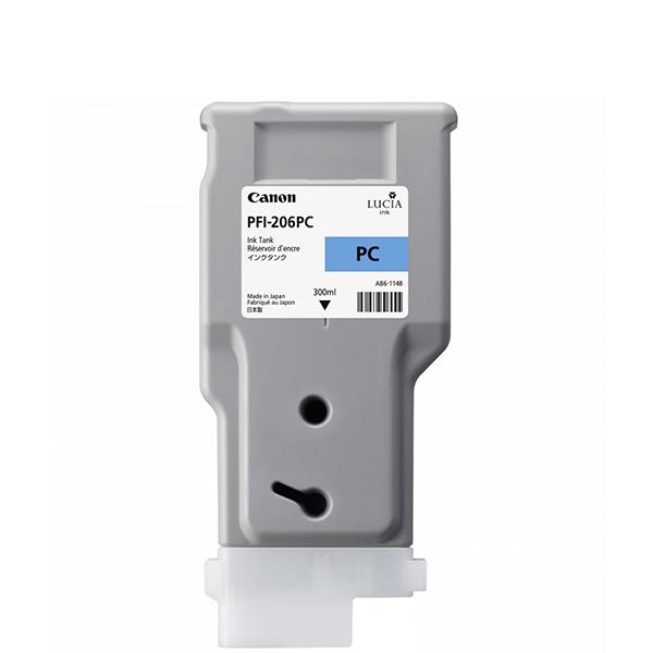 【送料無料】CANON PFI-206 PC フォトシアン [インクタンク]