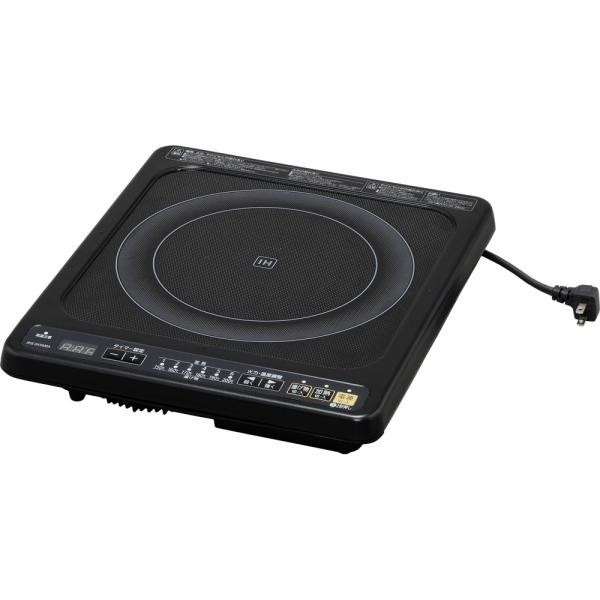 【送料無料】アイリスオーヤマ IHC-B112-B ブラック [IHクッキングヒーター(ビルトインタイプ・100V・1口)]