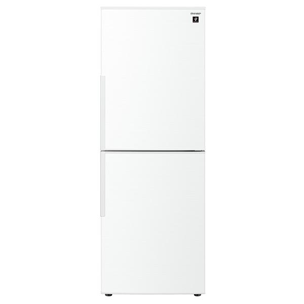 【送料無料】SHARP SJ-PD28E-W ホワイト系 [冷蔵庫(280L・右開き)]
