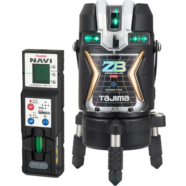 【送料無料】タジマ ZEROBLSN-KJC NAVI ZERO [レーザー墨出し器(BLUEセンサーリチウム-KJC)]