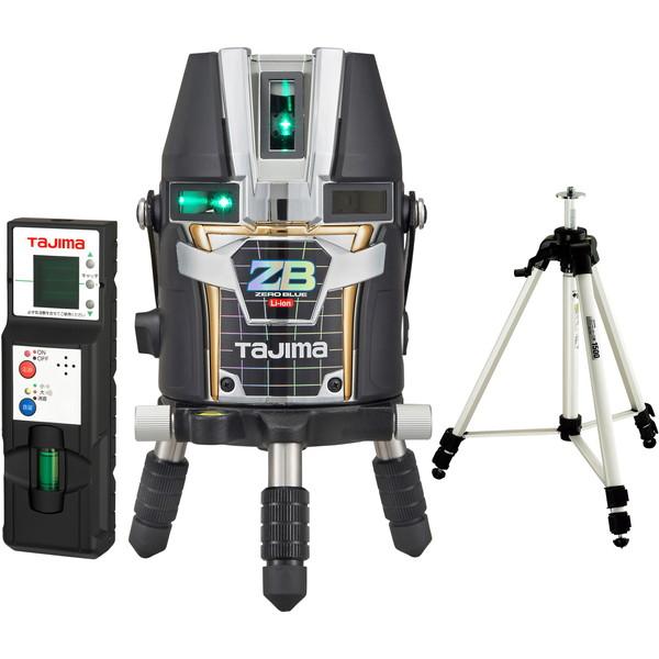 流行に  ZEROBL-KYRSET [レーザー墨出し器(BLUEリチウムーKYR 店 ZERO タジマ 受光器・三脚セット)]:総合通販PREMOA-DIY・工具