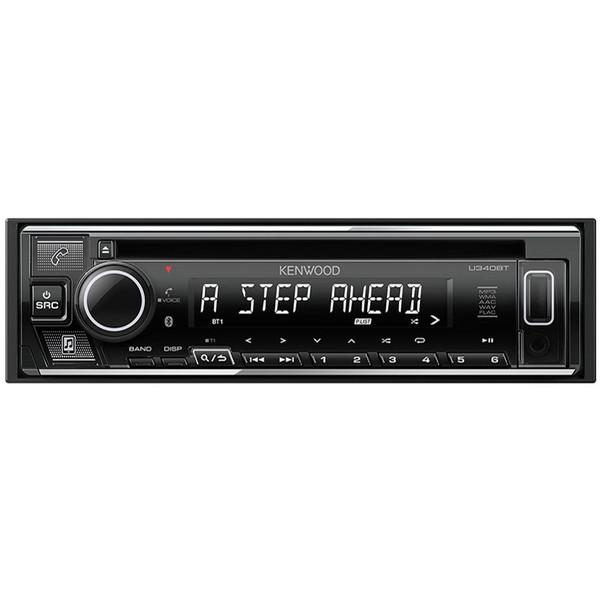 【送料無料】KENWOOD U340BT [CD/USB/iPod/Bluetoothレシーバー]
