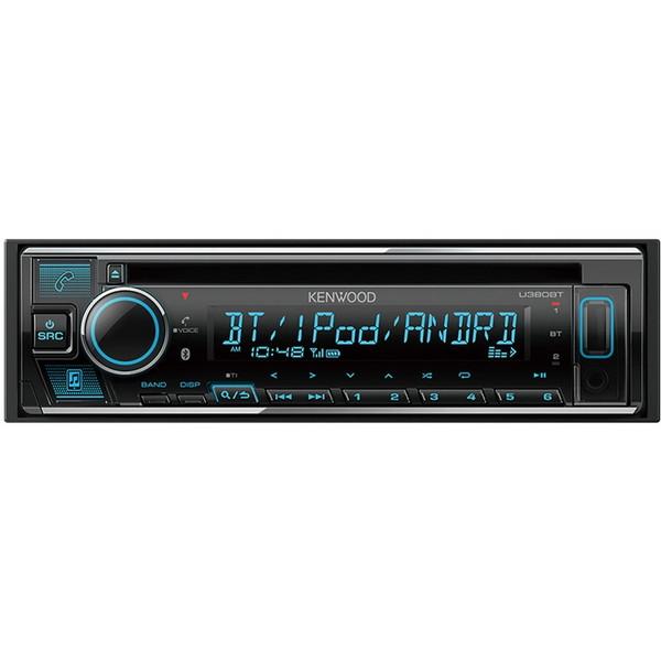 【送料無料】KENWOOD U380BT [CD/USB/iPod/Bluetoothレシーバー]