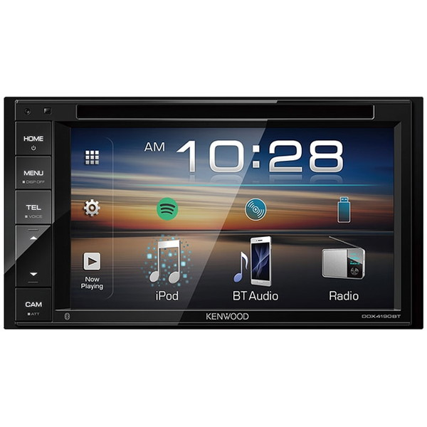 【送料無料】KENWOOD DDX4190BT [DVD/CD/USB/iPod /Bluetoothレシーバー]
