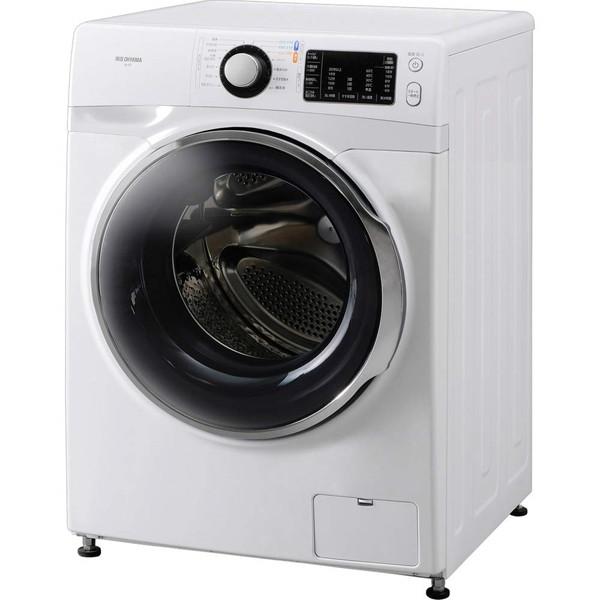 【送料無料】アイリスオーヤマ FL71-W/W [ドラム式洗濯機(7.5 kg) 左開き]