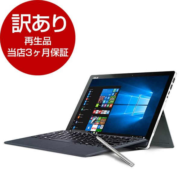 【送料無料】【再生品 当店3ヶ月保証付き】ASUS T304UA-72512S グレー TransBook [タブレットPC 12.6型 512GB]【アウトレット】