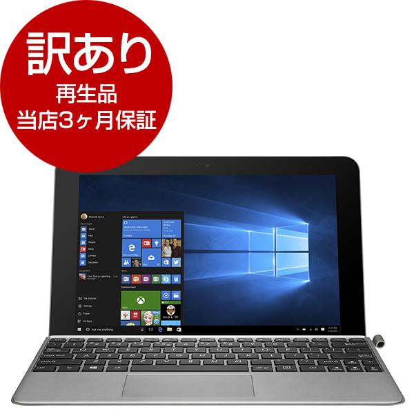 【送料無料】【再生品 当店3ヶ月保証付き】ASUS T102HA-8350G グレー TransBook Mini [タブレットPC 10.1型ワイド液晶 2GB]【アウトレット】