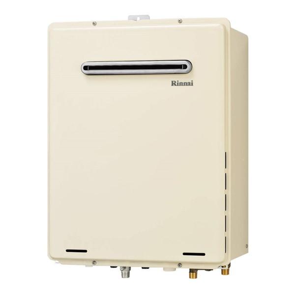 Rinnai RUF-A2405AW(B)-LP [ガスふろ給湯器(プロパンガス用)屋外壁掛・PS設置型 24号フルオート]