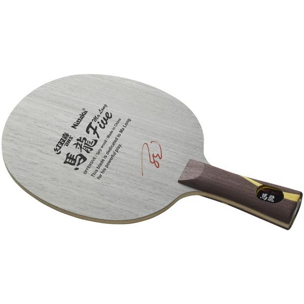 【送料無料】Nittaku NE-6154 馬龍5LG FL [卓球ラケット シェーク ラージグリップ・フレア]