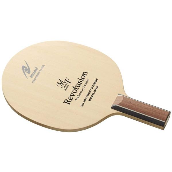 【送料無料】Nittaku NE-6409 レボフュージョンMF C [卓球ラケット ペンホルダー(中国式)]