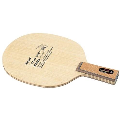【送料無料】Nittaku NE-6671 ルデアックパワー C [卓球ラケット ペンホルダー(中国式)]