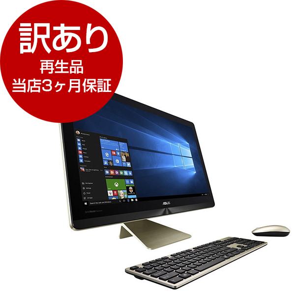 【送料無料】【再生品 当店3ヶ月保証付き】ASUS Z220ICUK-GC002X クールゴールド Zen AiO [デスクトップパソコン 21.5型ワイド液晶 HDD1TB ]【アウトレット】