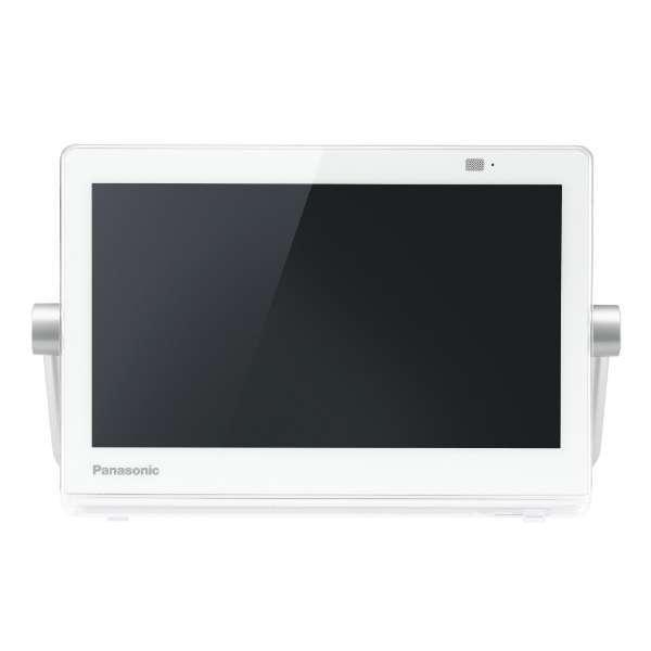 【送料無料】PANASONIC UN-10CT8-W ホワイト プライベート・ビエラ [10V型 ポータブル液晶テレビ 防水タイプ HDDレコーダー付き(500GB)]