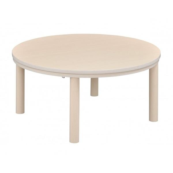 【送料無料】こたつ テーブル 丸 楕円 75 おおたけ EK-YM757-N 丸型パーソナルこたつ(75cm) コタツ おしゃれ 家具 一人暮らし 新生活 リバーシブル天板