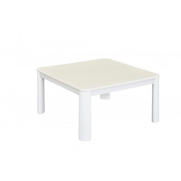 こたつ テーブル 75 おしゃれ リバーシブル天板 おおたけ ECK-YP758-WH ホワイト カジュアルこたつ(75×75cm) コタツ 家具 新生活 一人暮らし 引っ越し