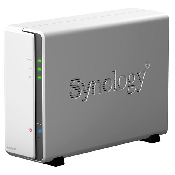 【送料無料】Synology DS119j DiskStation [1ベイオールインワンNASキット]