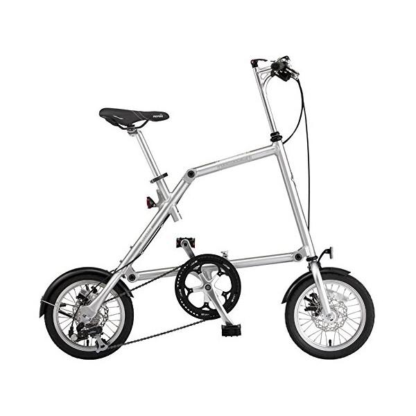 【送料無料】nanoo FD-1408 ポリッシュ(23637) [折りたたみ自転車(14インチ・8段変速)]【同梱配送不可】【代引き不可】【沖縄・離島配送不可】