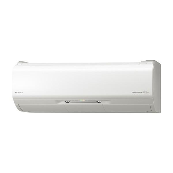 【送料無料】日立 RAS-ZJ80J2(W) スターホワイト ステンレス・クリーン 白くまくん ZJシリーズ [エアコン(主に26畳・単相200V)]