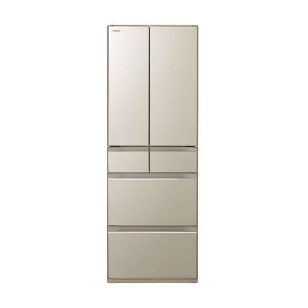 【送料無料】日立 R-HW52K(XN) プレーンシャンパン [冷蔵庫(520L・フレンチドア)] 【代引き・後払い決済不可】【離島配送不可】