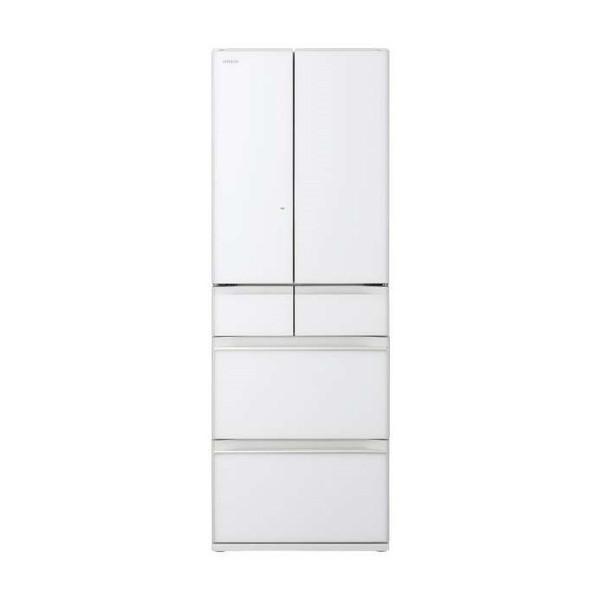 【送料無料】日立 R-HW52K(XW) クリスタルホワイト [冷蔵庫(520L・フレンチドア)] 【代引き・後払い決済不可】【離島配送不可】
