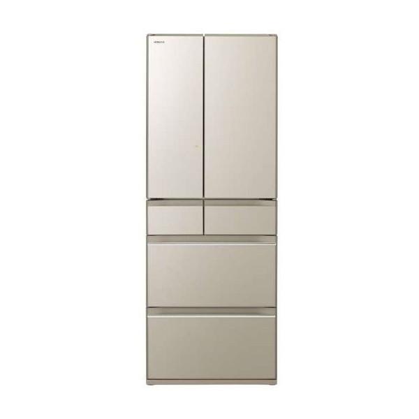 【送料無料】日立 R-HW60K(XN) プレーンシャンパン [冷蔵庫(602L・フレンチドア)] 【代引き・後払い決済不可】【離島配送不可】