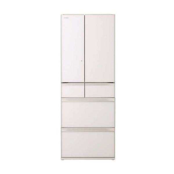 【送料無料】日立 R-HW60K(XW) クリスタルホワイト [冷蔵庫(602L・フレンチドア)] 【代引き・後払い決済不可】【離島配送不可】