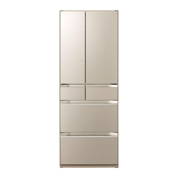 【送料無料】日立 R-KW57K(XN) ファインシャンパン [冷蔵庫(567L・フレンチドア)] 【代引き・後払い決済不可】【離島配送不可】
