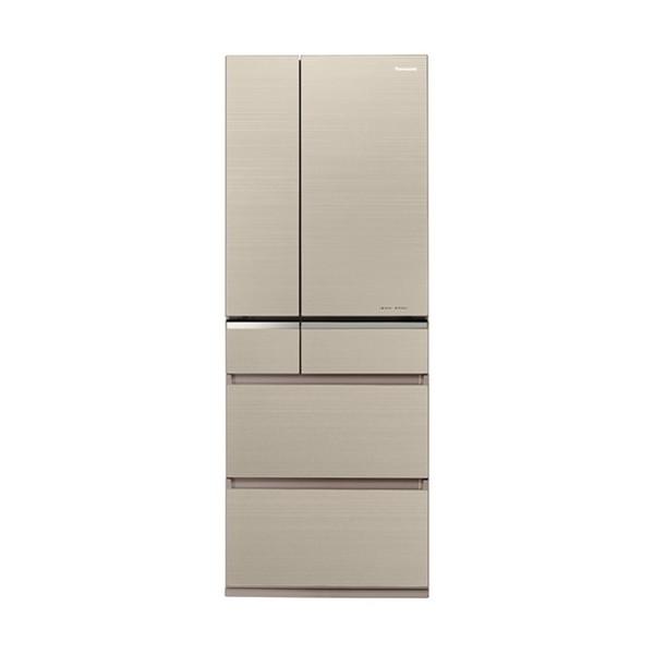 【送料無料】PANASONIC NR-F505XPV-N マチュアゴールド [冷蔵庫(501L・フレンチドア)] 【代引き・後払い決済不可】【離島配送不可】