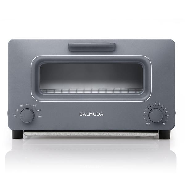 【送料無料】BALMUDA K01E-GW グレー The Toaster [オーブントースター(1300W)]