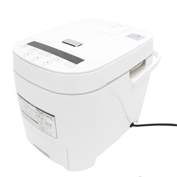 【送料無料】ダイアモンドヘッド RM-69H ホワイト ROOMMATE [糖質ダイエット炊飯器(5合炊き)]