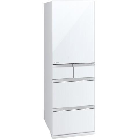 【送料無料】MITSUBISHI MR-MB45E-W クリスタルピュアホワイト 置けるスマート大容量 MBシリーズ [冷蔵庫(451L・右開き)] 【代引き・後払い決済不可】【離島配送不可】