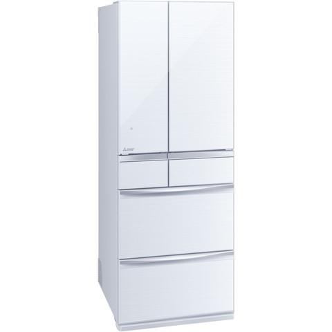 【送料無料】MITSUBISHI MR-MX57E-W クリスタルホワイト 置けるスマート大容量 MXシリーズ [冷蔵庫(572L・フレンチドア)]