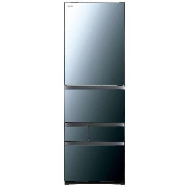【送料無料】東芝 GR-R470GW(XK) クリアミラー VEGETA [冷蔵庫(465L・右開き)] 【代引き・後払い決済不可】【離島配送不可】