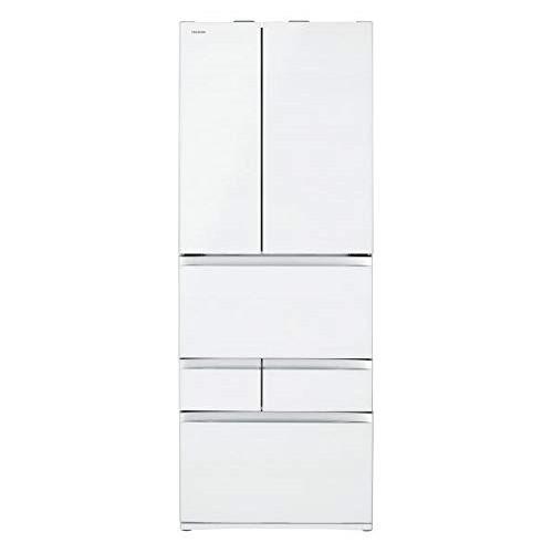 【送料無料】東芝 GR-R600FZ(UW) クリアグレインホワイト VEGETA [冷蔵庫(601L・フレンチドア)] 【代引き・後払い決済不可】【離島配送不可】