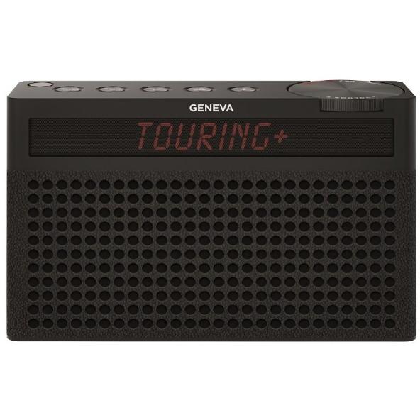 【送料無料】Geneva 875419016672JP ブラック Touring S+ [Bluetoothスピーカー(バッテリー内蔵/FMラジオ機能付き)]