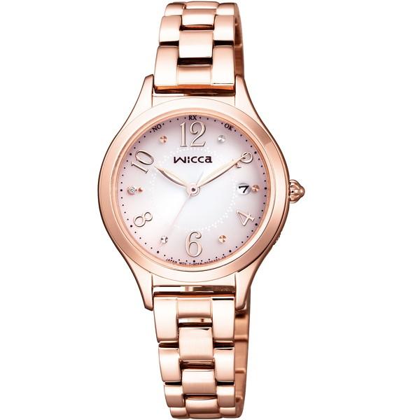 CITIZEN(シチズン) KS1-261-91 ウィッカ [ソーラー電波腕時計(レディース)]