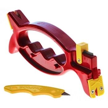 あらゆる刃物を研ぐことができる研ぎ器です。 ケイエムケイ ミニシャープナー付き ソリング