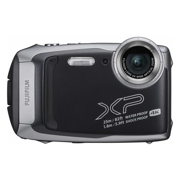 デジタルカメラ 防水 富士フィルム FinePix XP140 ダークシルバー 耐衝撃 防塵 耐寒